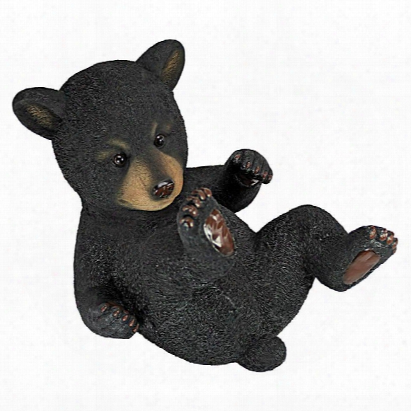Roly-poly Be Ar Cub Statues: Rolling Bear