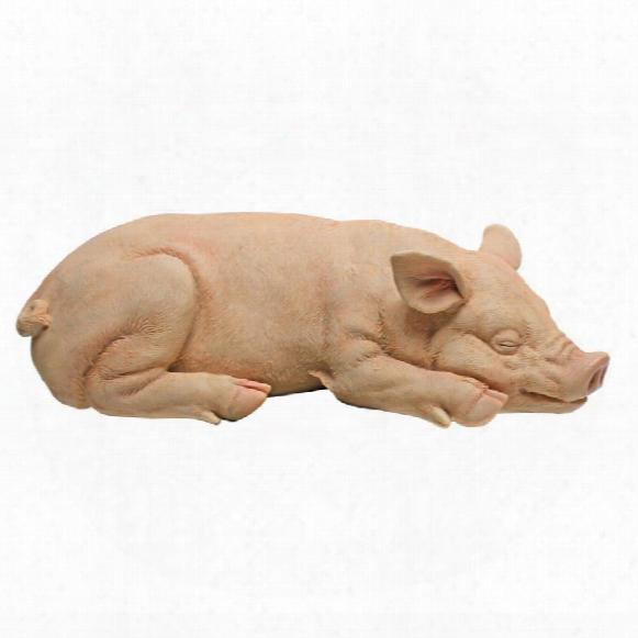 Sandman And Porker, The Piggies Garden Statues: Sandman