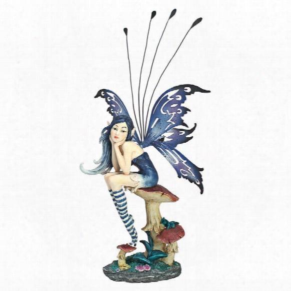 Sapphire, The Pepperwand Fairy Statue
