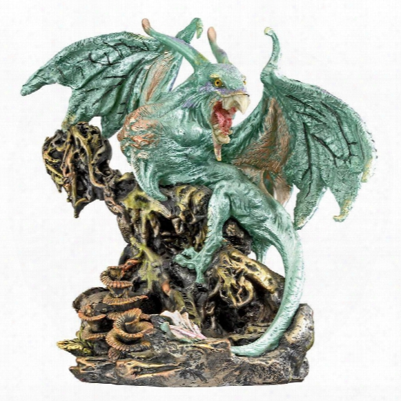 "Scylla, The  Dragon Demon From The Depths Of The Sea"" Statue"