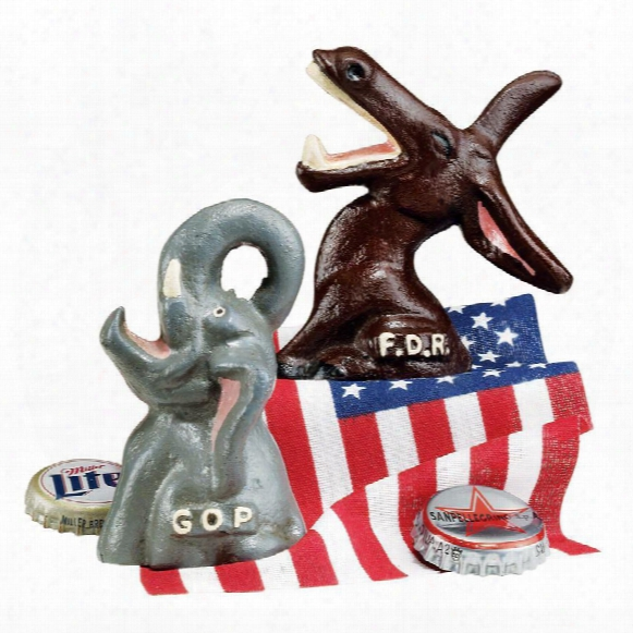 Set Of Gop And Fdr Bottle Openers