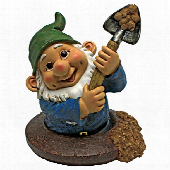 Shoveling Sam, The Garden Gnome Statue