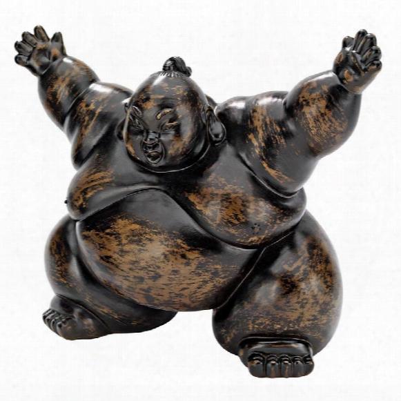 Squat The Sumo Wrestler Statue
