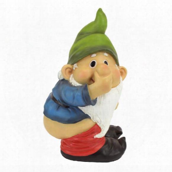 Stinky, The Garden Gnome Statue