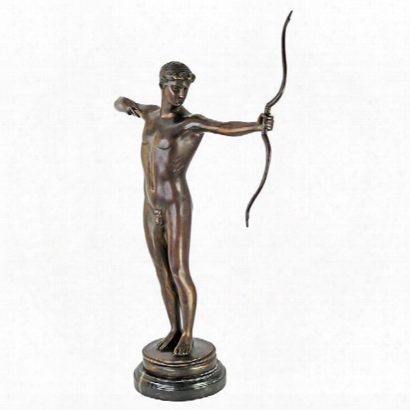 Teucer Quality Lost Wax Bronze Statue: 1881