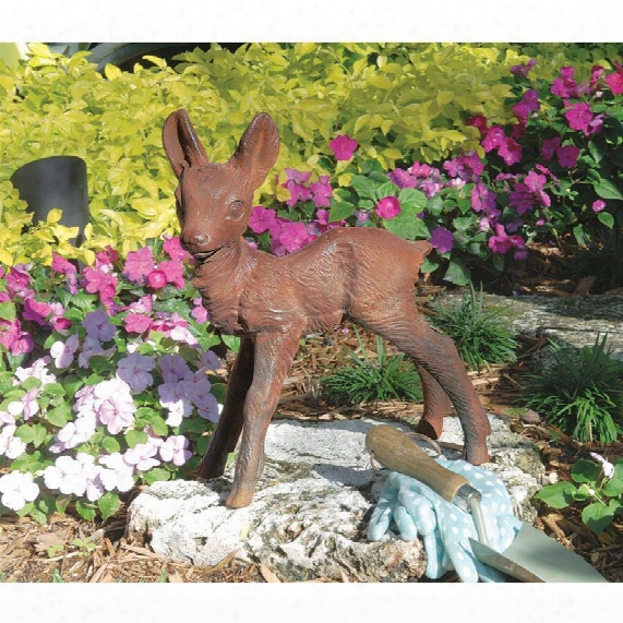 The Deer Fawn Sculpture