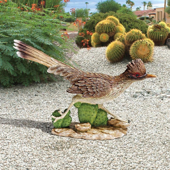 """The Great Roadrunner"""" Statues: Set Of Two"""