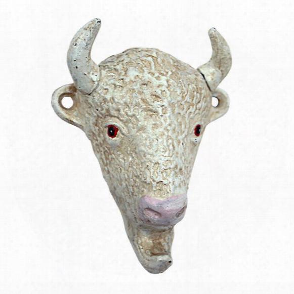 The Great White Buffalo Cast Iron Bottle Opener