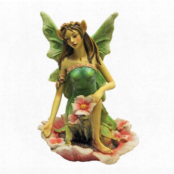 The Red And Green Fairy Of Acorn Hollow Statues: Green