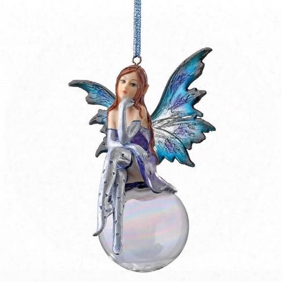 The Snow Fairy Goddess Holiday Ornament