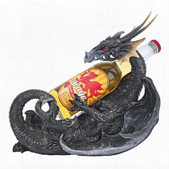 The Thirst  Quencher Gothic Dragon Beverage Holder