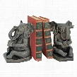 Educated Elephant Cast Iron Bookend: Pair