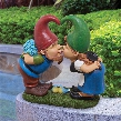 Kiss and Tell, Lover Gnomes Statue