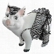 "Porker on Patrol"" Pig Statue"