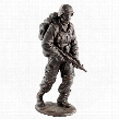 "Salute to Our Heroes"" Military Soldier Statue"
