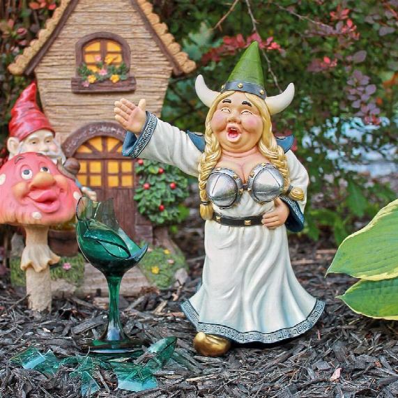 Til The Fat Lady Sings Gnome Statue