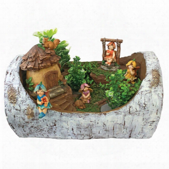 Tiny Forest Friends Fairy Garden Statue Collection