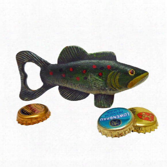 Trout Tales Cas Tiron Bottle Opener