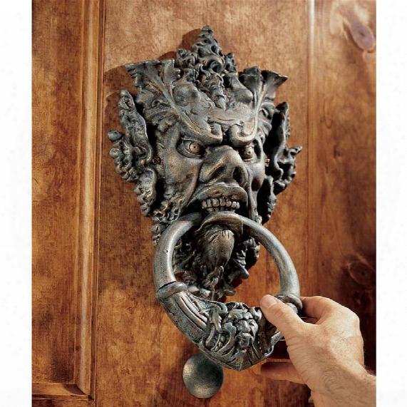 Vecchio Greenman Authentic Foundry Iron Door Knocker