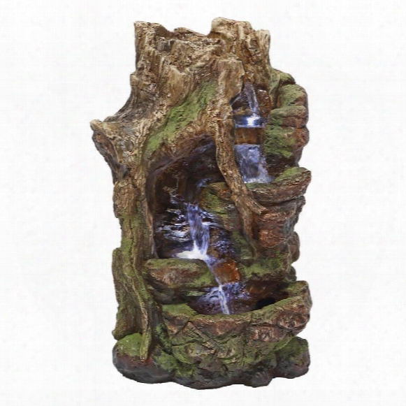Willow Bend Illuminated Garden Fountain