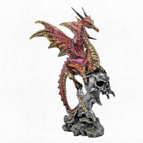 Zazookie, Lord Of The Sky Dragon Statue