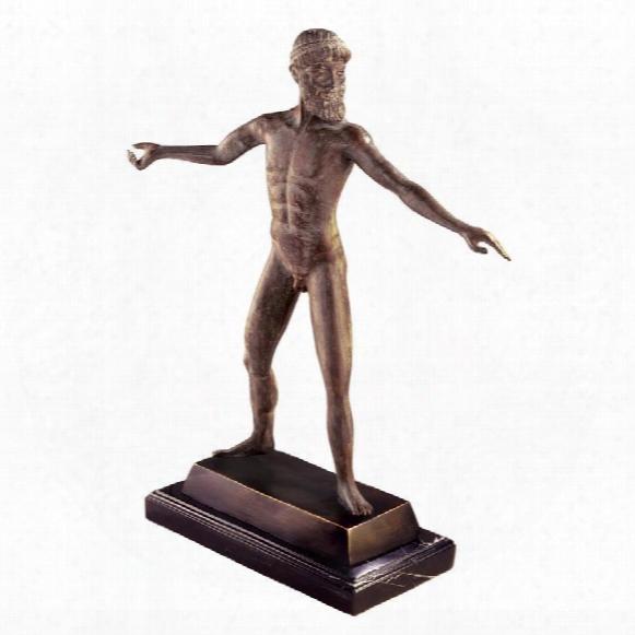 Zeus Or Poseidon Of Artemision Quality Lostw Ax Bronze Statue
