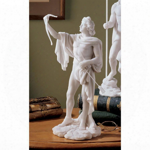 Apollo Classical Greek God Bonded Marble Statue