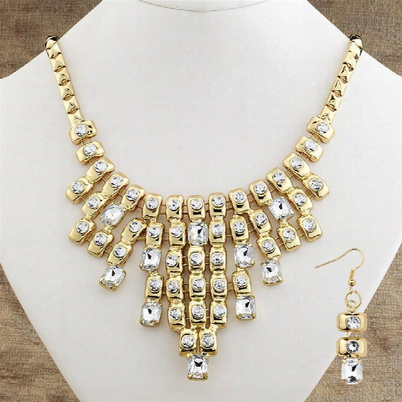 Cabaret Necklace And Earring Ensemble