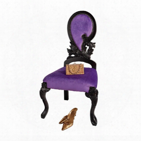 Couture Regency Ornate Accent Chair