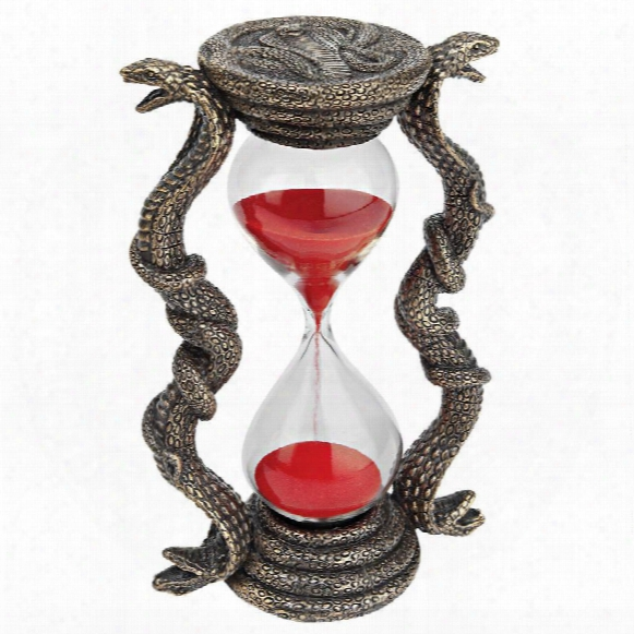 "Egyptian Cobra Goddess"" Sandtimer Hourglass"