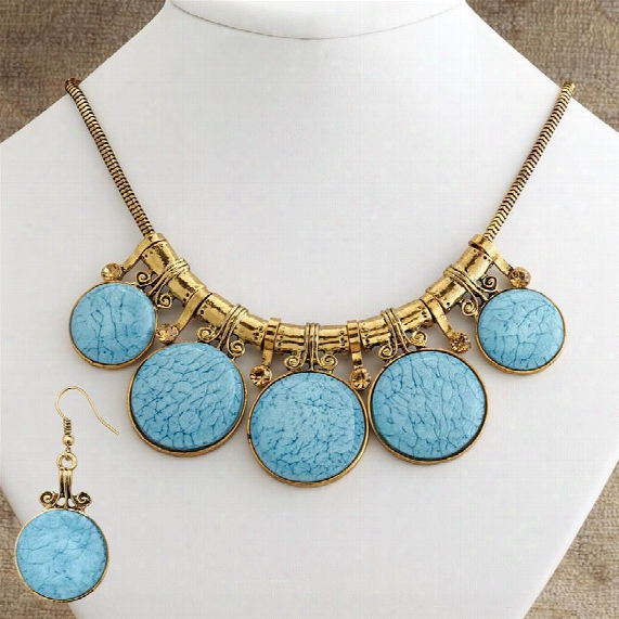 Emi Necklace And Earring Ensemble