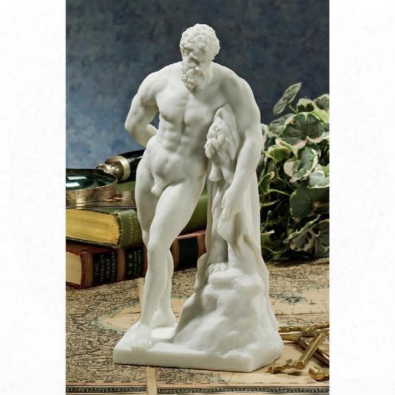 Farnese Hercules Bonded Marble Statue