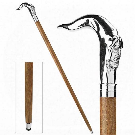 Gentleman's Choice: Greenman Solid Hardwood Walking Stick