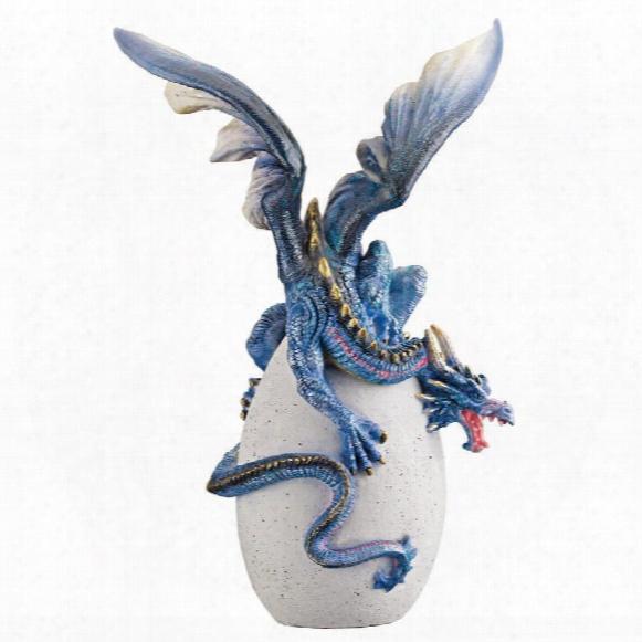 Gothic Dragon Hatchling Statue