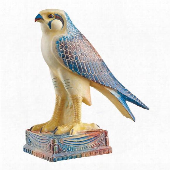 Horus, Egyptian Falcon God Statue