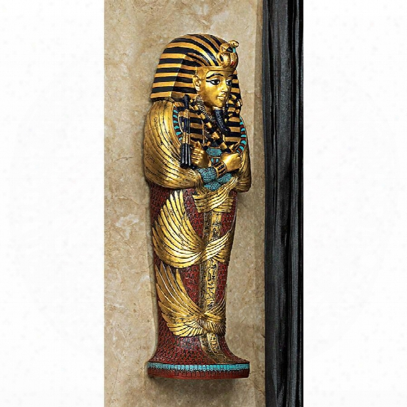Icons Of Ancient Egypt Wall Sculpture: King Tut