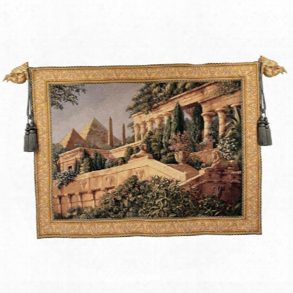 Nile Garden Tapestry: Small