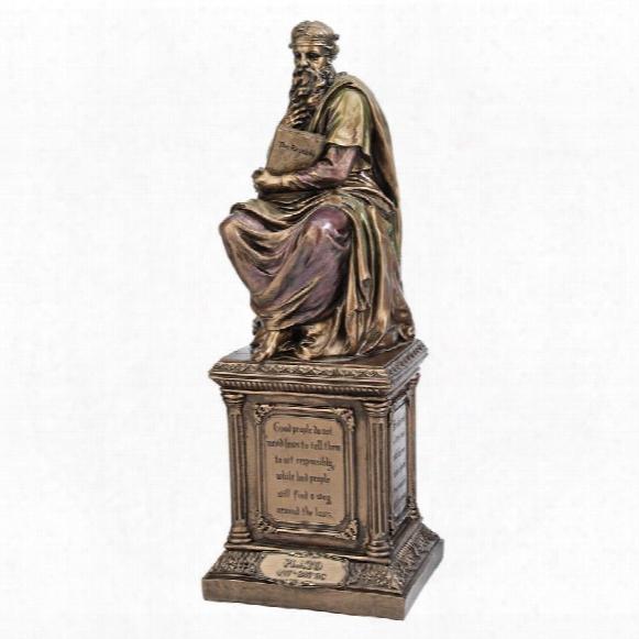 Plato, Master Of Western Philosophy Statue