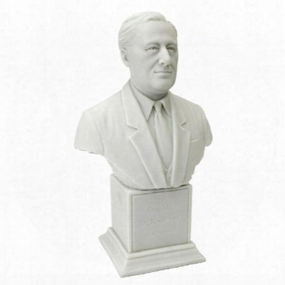President Franklin Dela No Roosevelt (1882 - 1945) Statue