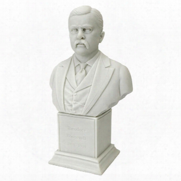 President Theodore Roosevelt, Jr. (1858 - 1919) Statue