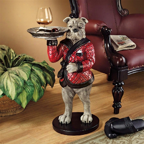 "Rex, The Bachelor Bulldog"" Sculptural Table"