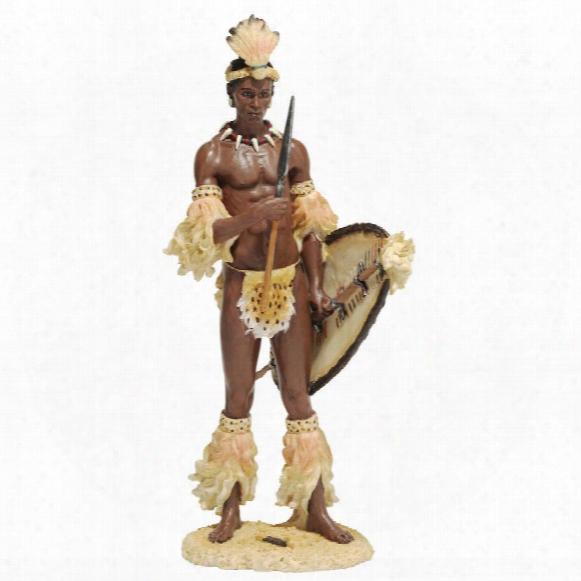 Shaka, The Zulu Warrior King Sculpture