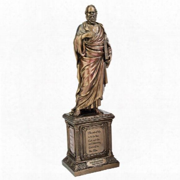 Socrates, Master Of Western Philosophy Statue