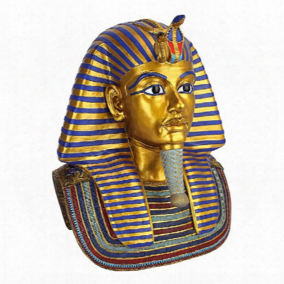 The Golden Mask Of Tutankhamen Sculpture: Large