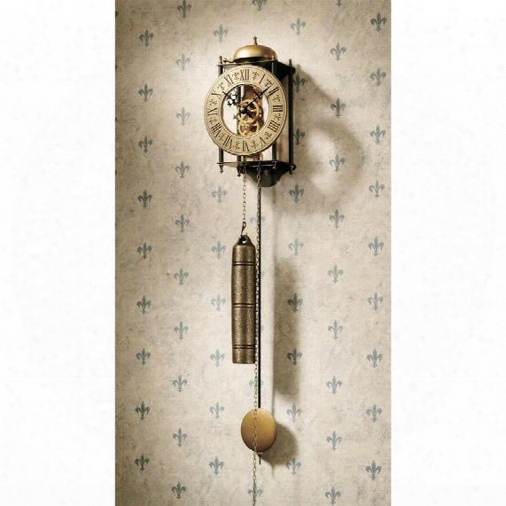 The Templeton Regulator Wall Clock