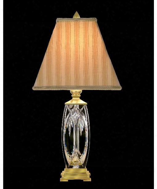 Finn 1 Light Table Lamp In Versailles Brass