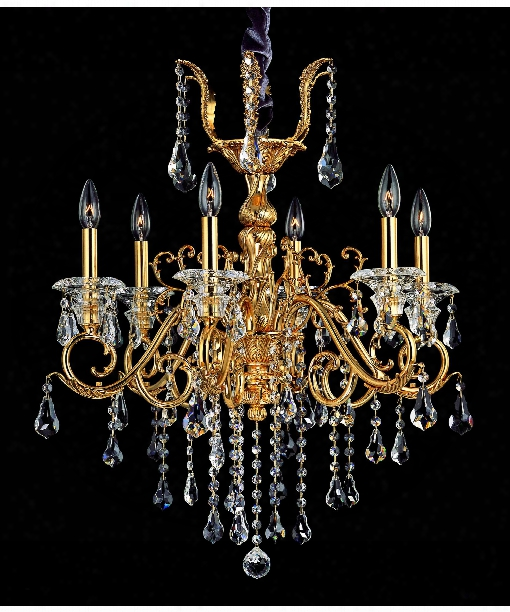 Haydn 8 Light Chandelier In Aged Bronze
