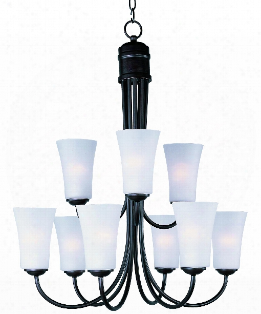 "Logan 29""  Light Chandelier In Oil Rubbed Bronze"