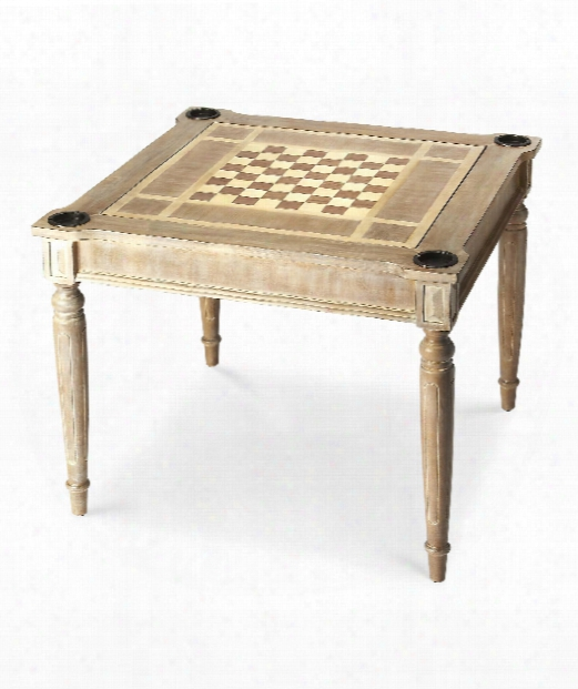 """Masterpiece 36"""" Accent Table In Driftwood"""