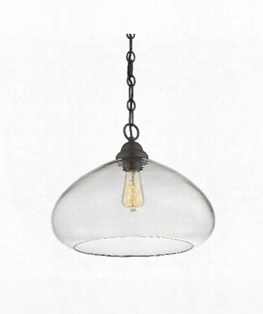 "Shane 16"" 1 Light Large Pendant In English Bronze"